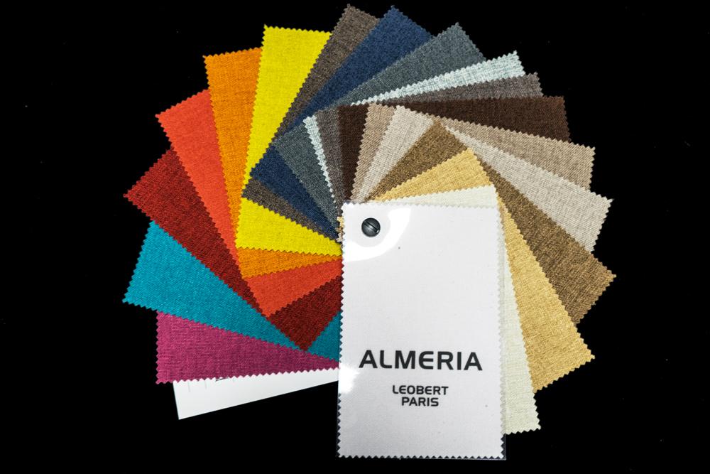 """Nuancier """"Almeria"""" Collections exclusives Leobert"""