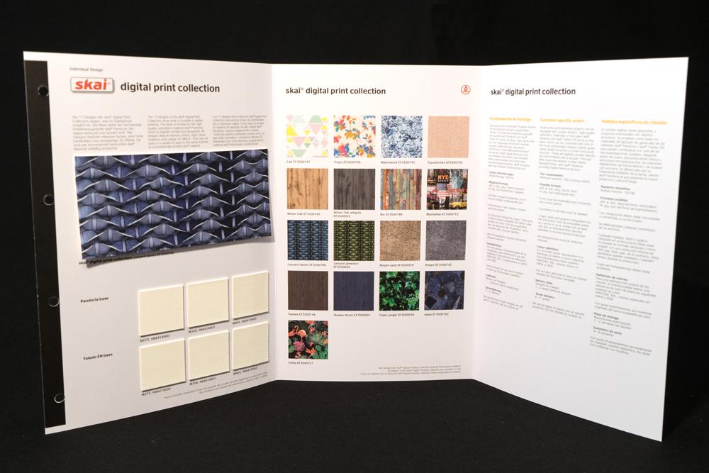 Nuancier « Digital Print » SKAI HORNSCHUCH