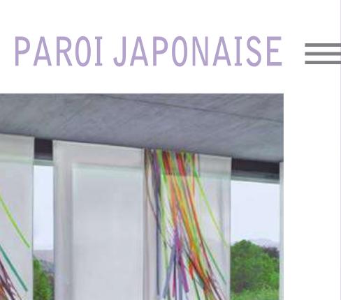 Paroi japonaise La Venitienne