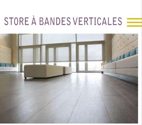 Store bandes verticales La Venitienne