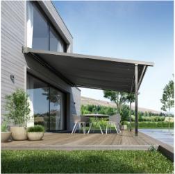 Store de terrasse à structure fixe terraclim 6500