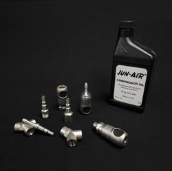 Huile compresseur et accessoires JUN AIR