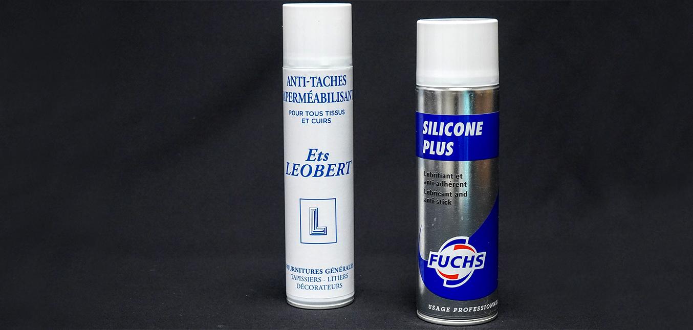 Imperméabilisant et spray silicone