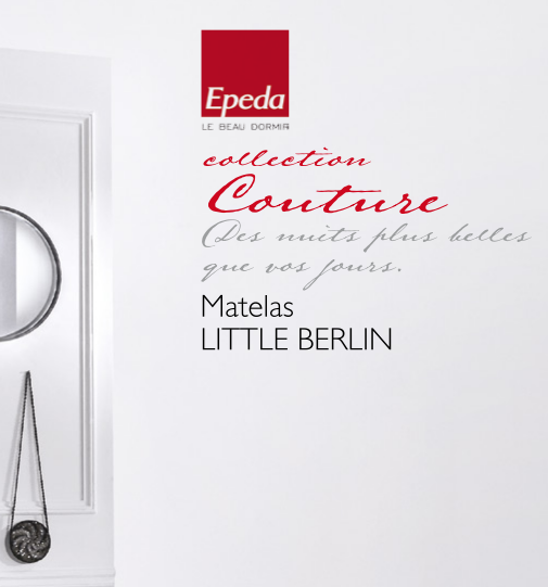 Matelas LITTLE BERLIN EPEDA