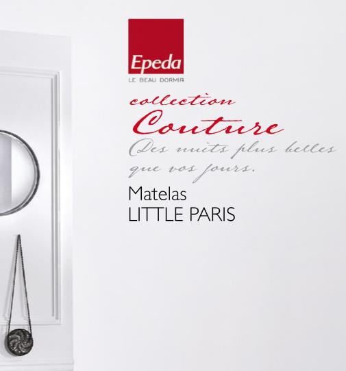 Matelas LITTLE PARIS EPEDA