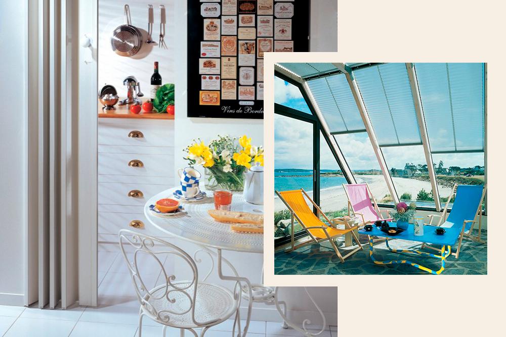 Cloison extensible & Store pour véranda