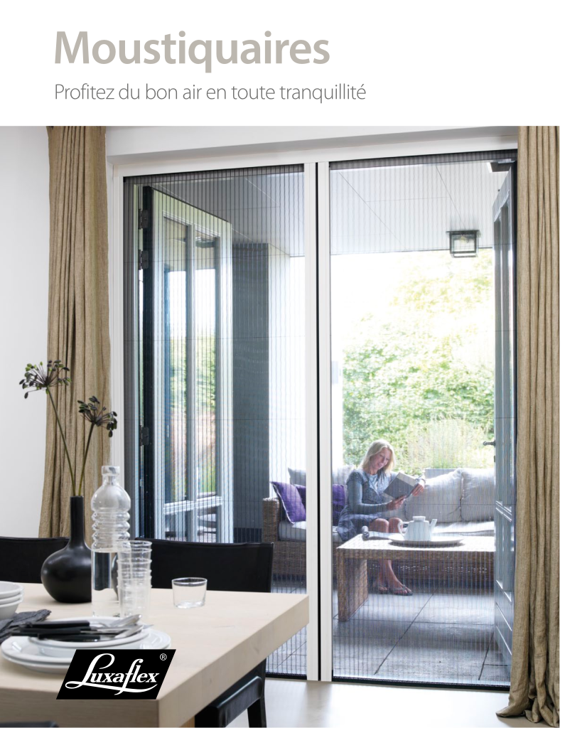 Moustiquaires Luxaflex