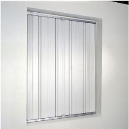 Persiennes coulissantes PVC ou aluminium ACCORDEO