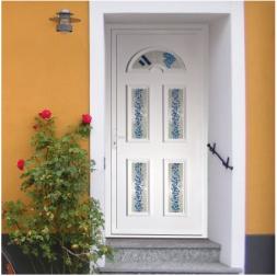 Porte d'entrée PVC Classique